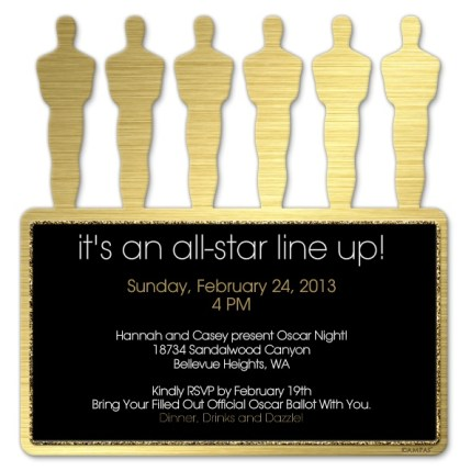 Oscar Invitation, Academy awards