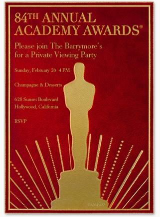 Oscar's Classic Oscar Invitation
