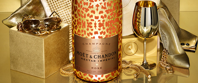 moet chandon leopard luxury edition