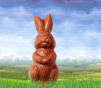 Guilt Free Chocolate Bunny