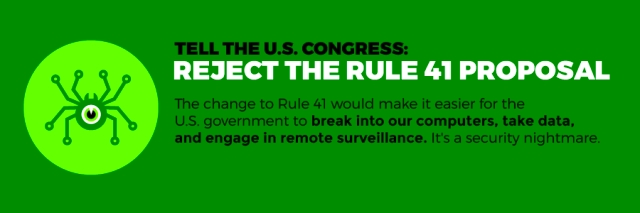 reject rule 41 changes