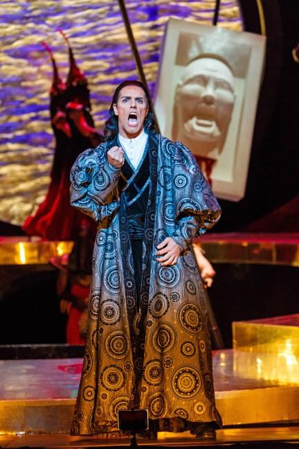 Prince Calaf (tenor Thiago Arancam) will not be denied in 'Turandot.'