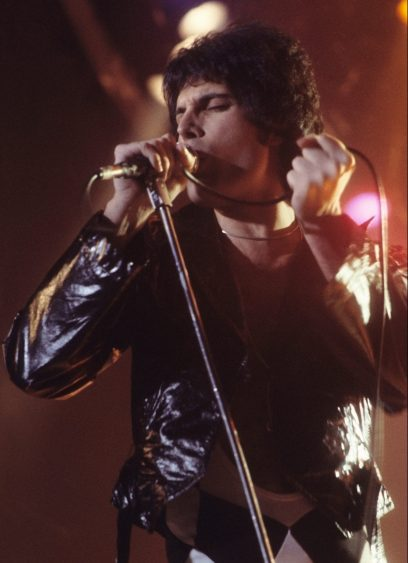 Freddie Mercury (shown here in 1977) is gone but his music lives on in 'We Will Rock You' at PMT.