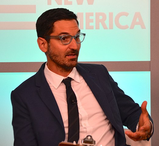 NPR host Guy Raz is one of the featured speakers at the 2018 Pittsburgh Humanities Festival. Photo: New America and Wikipedia.