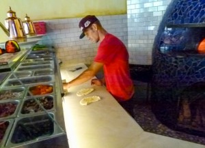 An Il Pizzaiolo chef, Tony Digristina of Sharpsburg, uses only the freshest ingredients to assemble the most authentic pizza possible.
