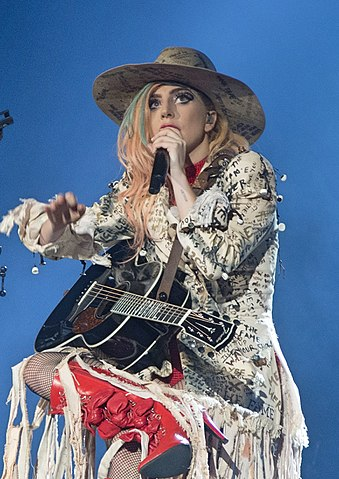 Lady Gaga performing 'Joanne' on the Joanne World Tour in September. Photo: Marcel de Groot.