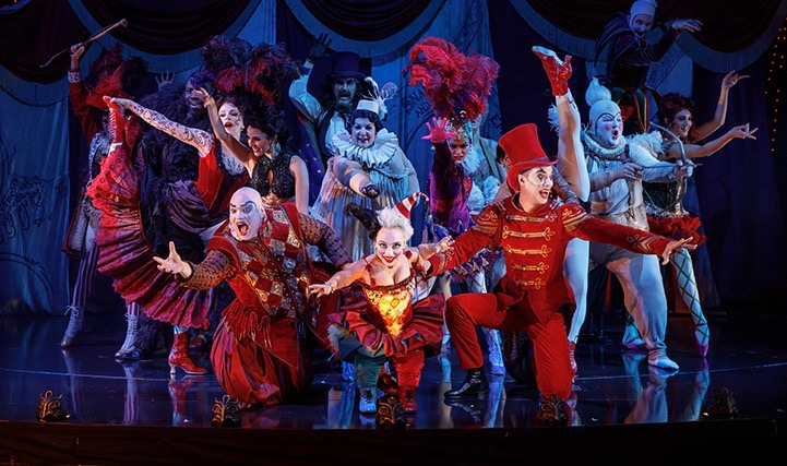 These guys in disguise have a spooky surprise. It's 'Love Never Dies,' the sequel to 'Phantom of the Opera,' in its U.S. road-show incarnation.
