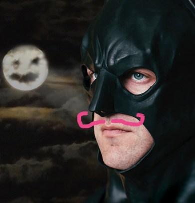 Ross is 'One Man Dark Knight.'
