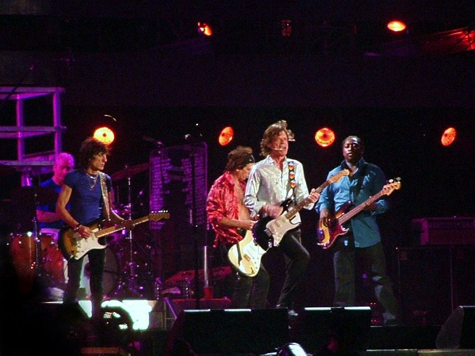 Rolling Stones concert in the Giuseppe-Meazza-Stadion in Milan on July 11, 2006. Photo courtesy of Severino.