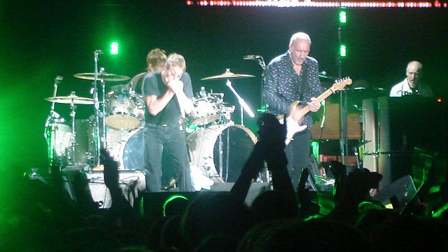 The Who performing at the Ahoy Rotterdam in 2007. (Photo: Joep Vullings)