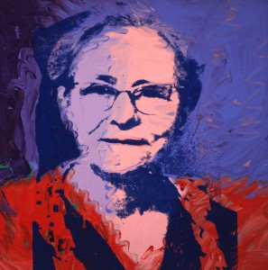 Julia Warhola, Andy's mother. He made this portrait two years after her death and it now hangs as part of a pair in The Warhol. (Image © AWF)