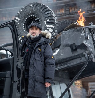 Director Mendes doesn't turn over any new leaf, but he knows how to flip a vehicle and keep the pages turning.