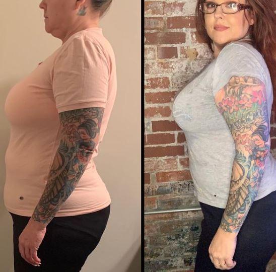 Rebecca Parrott Weight Loss Instagram
