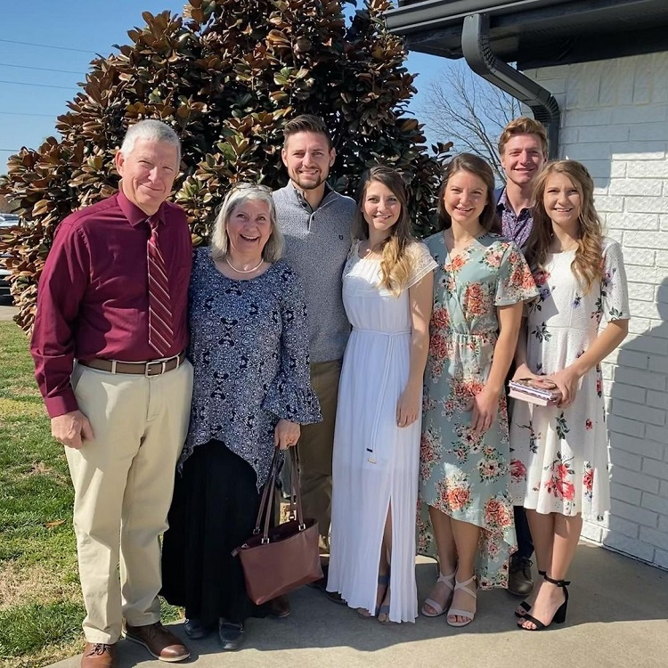 Stephen Wissmann Family Instagram