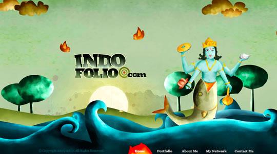 2 Colorful Website Design