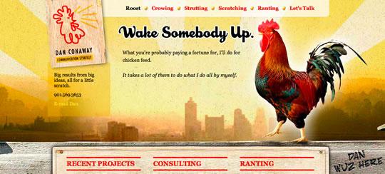 3 Colorful Website Design