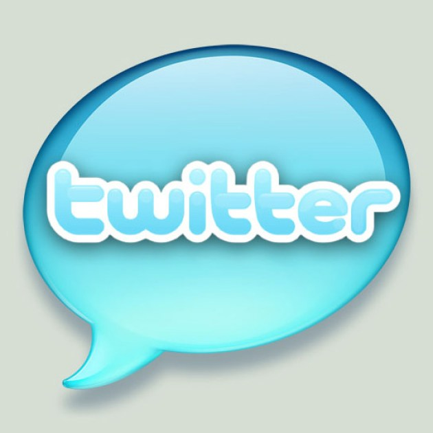 6 Twitter Icon Set