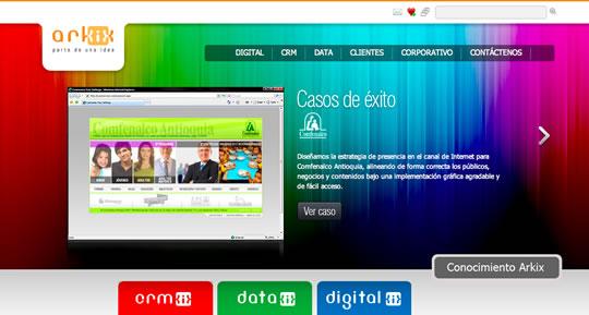8 Colorful Website Design