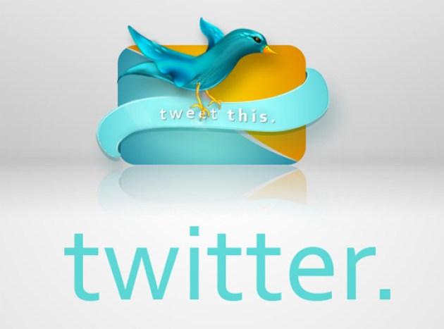 9 Twitter Icon Set