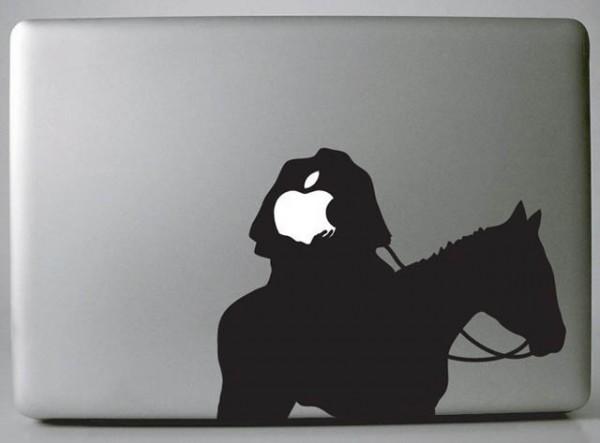 Headless Horseman Macbook Decal Sticker 600 215 443 Entertainmentmesh