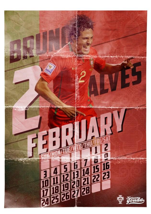 European Football Heroes -2013 Calendar-