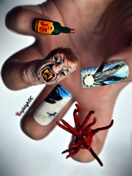 The Thing - Nail Art