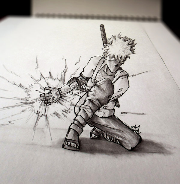 3D Sketch - KAKASHI ANBU