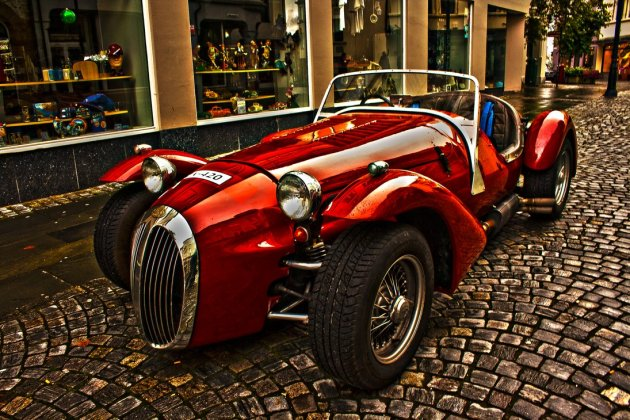 Red Jaguar Kougar 1963