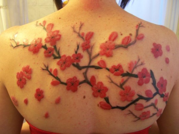 Awesome Cherry Blossom Tattoo