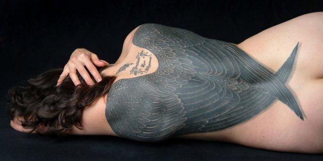 ravenwing tattoo