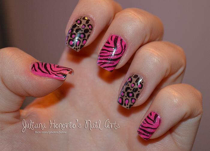 Tiger print nail designs choice image nail art and nail design ideas nail art entertainmentmesh advertisements prinsesfo choice image prinsesfo Image collections