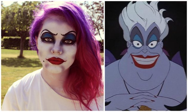 ursula the sea witch makeup ideas