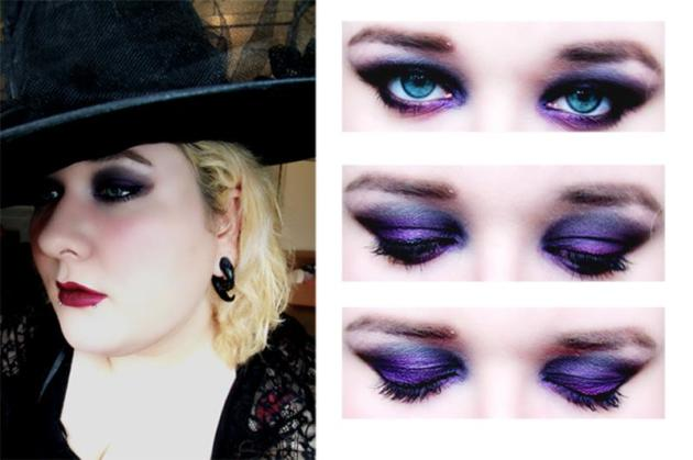 halloween witch makeup look