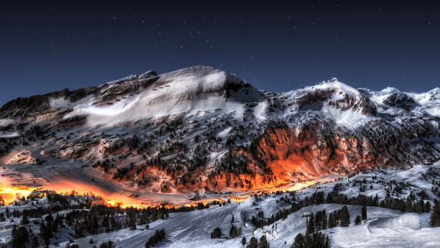 Fire in Ice HDR