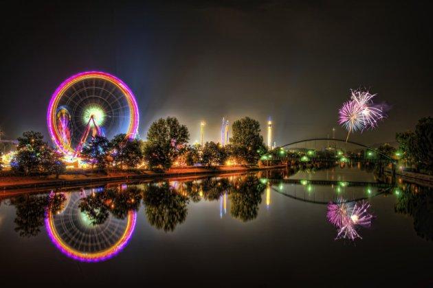 Volksfest HDR Fireworks Manip