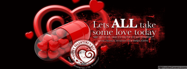 2 Valentines Day Facebook Cover Photo
