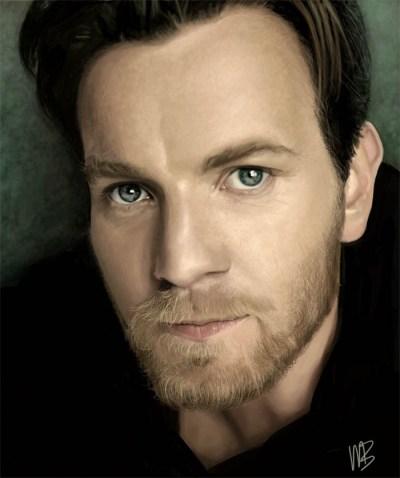 Digital Painting -Ewan McGregor