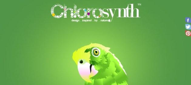 Green Website Design - Chlorosynth