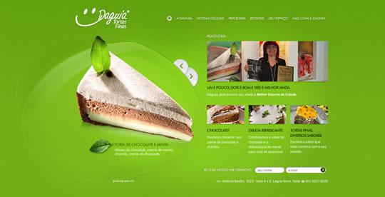 Green Website Design - Daguia
