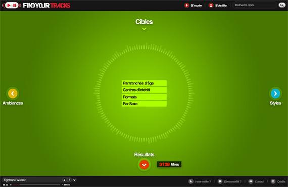 Green Website Design - Findyourtracks