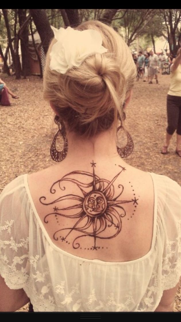 Compass Tattoo For Girl