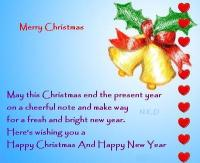 Christmas and new year greeting cards messages merry christmas and i have always thought of christmas m4hsunfo