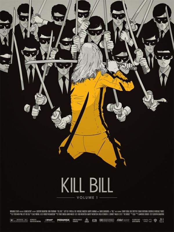 Kill Bill - creative movie poster design