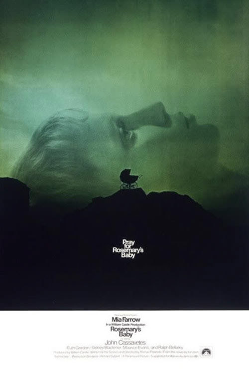 Rosemary's Baby - amazing movie poster design