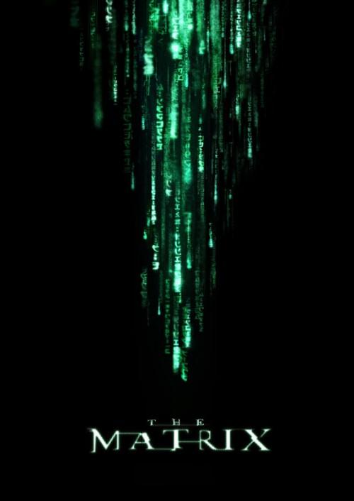 The Matrix - amazing movie poster design