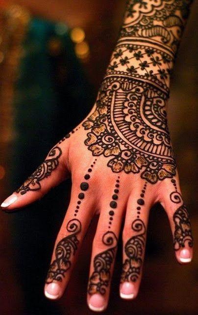 Amazing Mehndi designs