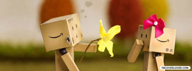 danbo in love facebook photo