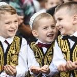 Eid Al Fitr Prayer and Celebration Sultan Mehmet Fatih Mosque Kosovo