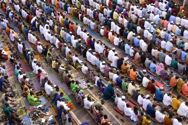 Eid Ul Fitr Adjame Mosque Abidjan