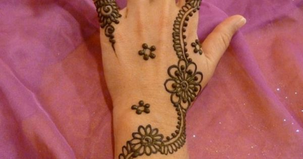 Mehndi Henna Pictures : 35 new easy and simple mehndi henna designs for beginner girls
